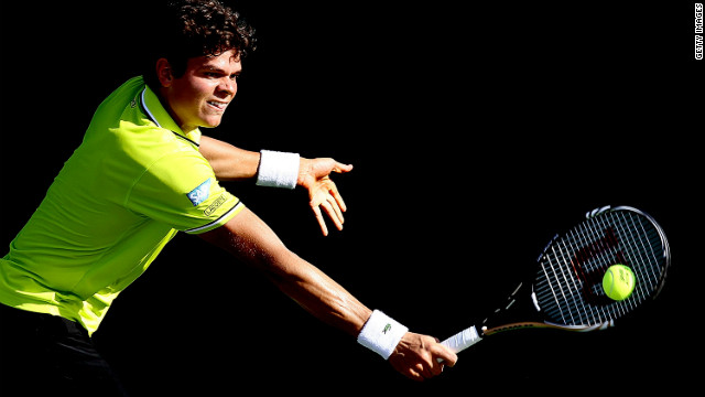 Big-serving young Canadian Milos Raonic has been widely tipped as the closest thing to the next Sampras, having won three titles already in less than two years on the ATP Tour.