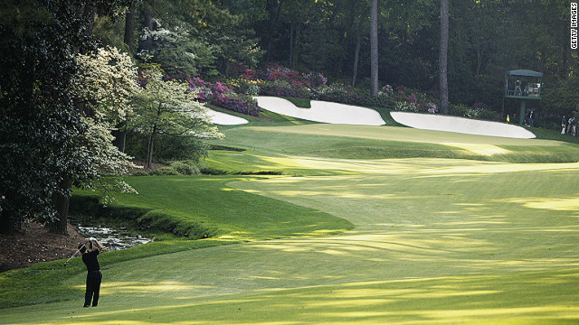 The final hole of &quot;Amen Corner&quot; has seen many a round hit the buffers, none more so than Japan's Tommy Nakajima -- who experienced the ignominy of penciling 13 onto his scorecard after attempting to play his ball out of Raes Creek in 1978. 
