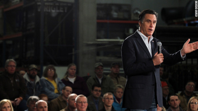 Two of Mitt Romney's rivals in the presidential campaign have tarred him as