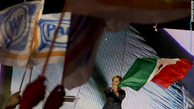 El PAN y el PRI arrancan sus campañas por la presidencia de México