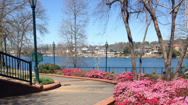 Riverwalk is Augusta's &quot;front porch&quot; built along the Savannah River. 