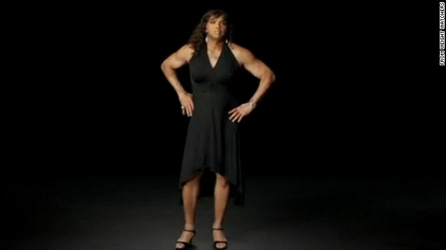 Charles Barkley dons dress for Weight Watchers