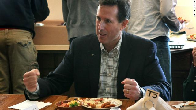 GOP candidates chew through Wisconsin