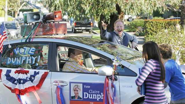 &#039;Modern Family&#039; rocks the vote
