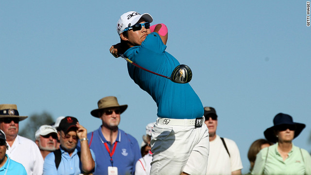 Taiwan's Yani Tseng is clear of the field after two rounds of the Kraft Nabisco Championship in California