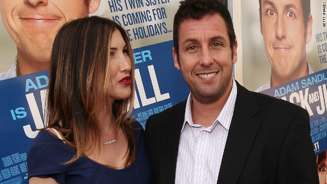 Adam Sandler's 'Jack and Jill' sets Razzies record