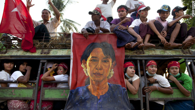 Ease sanctions on Myanmar