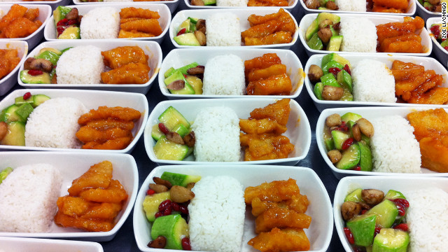 Fritz Gross recommends LSG Sky Chef's sweet-and-sour pork, a dish that is vacuum marinated to lock in flavor.