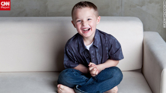 """At 2 years old, Charlie was diagnosed with autism,"" said Matthew McGhie, his father. ""The diagnosis hit us hard. In that moment, we realized things were going to be different. There wouldn't be Little League baseball; there wouldn't be any of the normal things for our family. Rather than hugs, we'd get scratches. Rather than giggles, we'd get screams."""