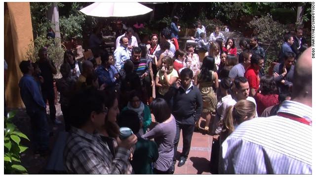 Fuerte sismo sacude la Ciudad de México