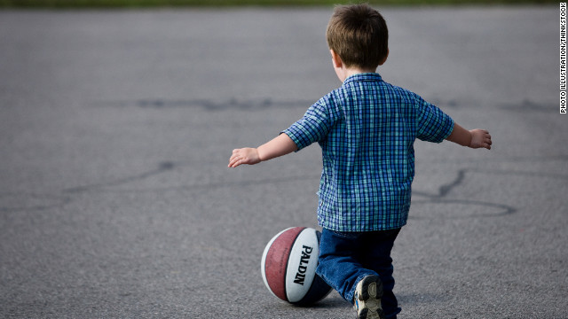 Nearly half of pre-schoolers not playing outside