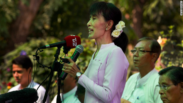 Pro-democracy leader Aung San Suu Kyi has spent much of the last 20 years under house arrest.