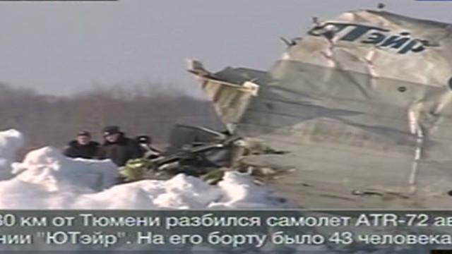 Al menos 31 muertos al estrellarse un avión en Siberia