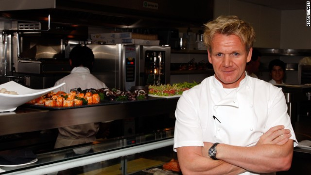 TV chef Gordon Ramsay has previously advised Singapore Airlines on the makeup of its in-flight menu.