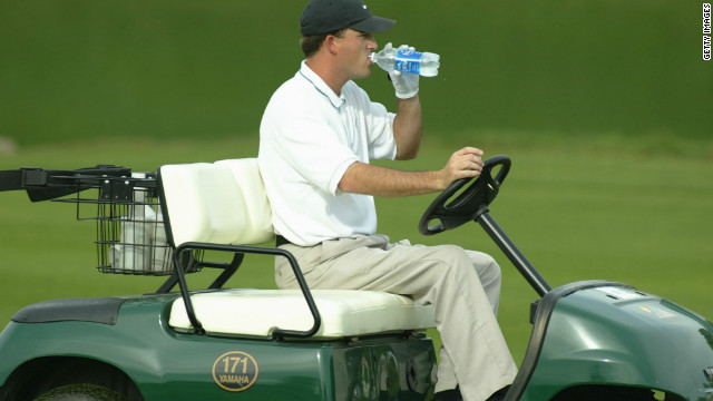 Casey Martin won a lengthy legal battle to be allowed to use a golf cart during PGA Tour tournaments. Martin suffered from a debilitating condition which limited his ability to walk.