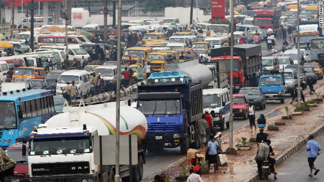 Do you live in one of Africa's economic hubs? Use the comments section below to tell us about your daily commute.