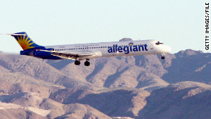 Allegiant Air will charge between $10 and $30 for carry-on bags that don't fit under seats.