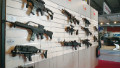 Weapons hawked at arms trade show