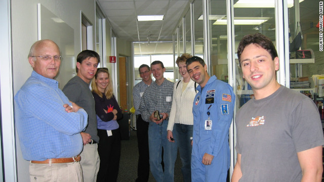 Early days at Google, Halloween 2004. After agonising over 14 job offers, she chose to join Google in 1999 because, she says, &quot;I felt like the smartest people were there, I felt like it was a risk and I felt like it was something I wasn't really prepared to do.&quot;