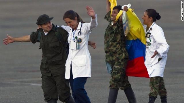 El presidente de Colombia exige la liberación de todos los secuestrados por las FARC
