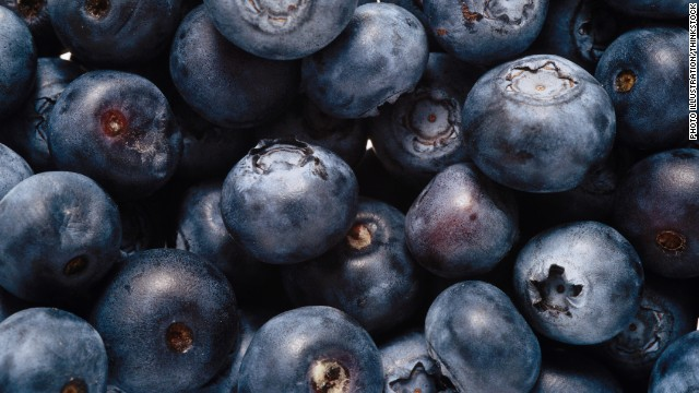 "Blueberries are often singled out as a superfood because studies have shown they aid in everything from fighting cancer to lowering cholesterol. But all berries, including raspberries, strawberries and blackberries, contain antioxidants and <a href='http://www.webmd.com/diet/phytonutrients-faq ' target='_blank'>phytonutrients</a>. Worried about the price of fresh fruit? Experts say frozen berries are just as ""super."""