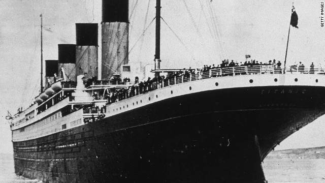 Overheard on CNN.com: Yes, the ship sinks, but we can't get enough of Titanic story