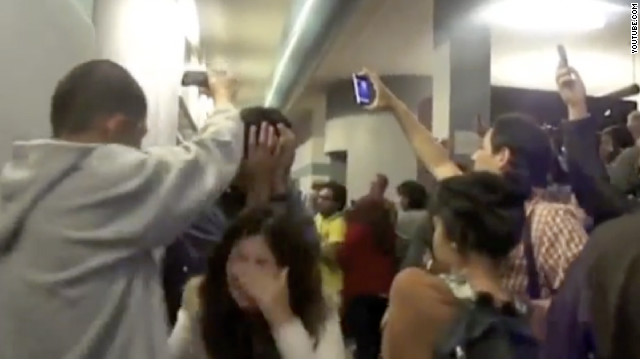 Santa Monica College students are outraged after campus police used pepper spray to break up a protest Tuesday.