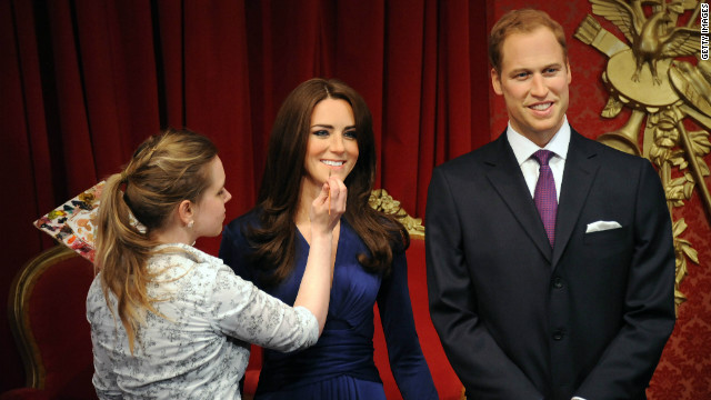 Kate And William Waxworks Unveiled Cnn Com
