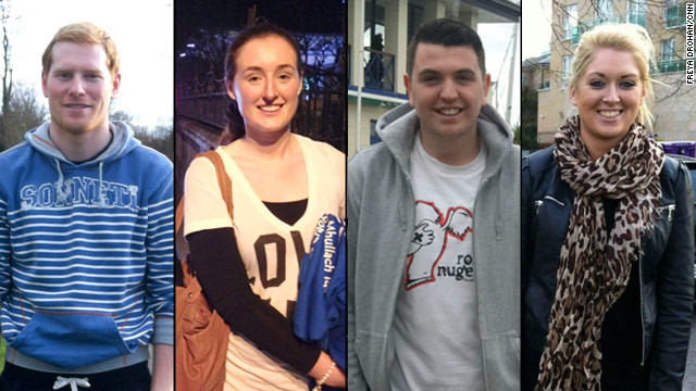 Karl Miller, Olwen Sheedy, Sam Hopkins and Sinead Donolon have all left, thought about leaving or are leaving Ireland to find work.