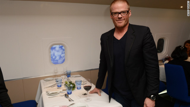 Celebrity chefs improve air fare