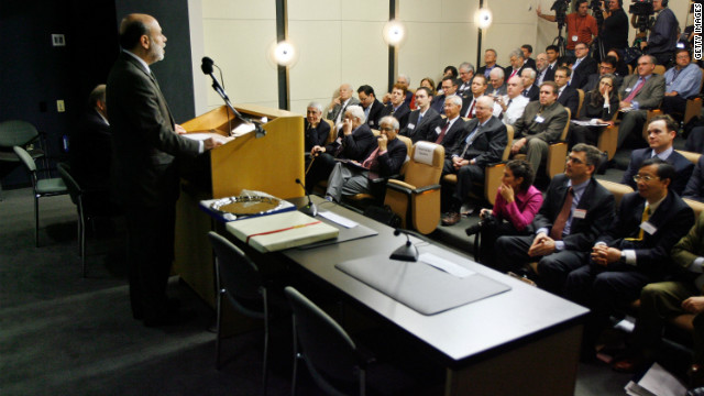 Ben Bernanke speaks at a Cato Institute event. Kevin Gentry says the Koch brothers have always upheld libertarian ideals.