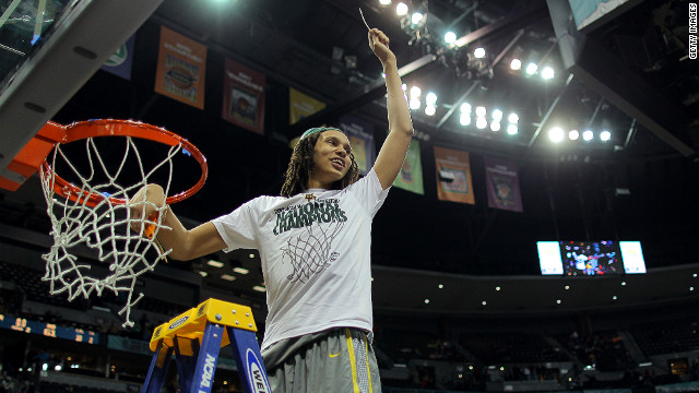 Baylor star center Brittney Griner leads team to 40-0 season, championship