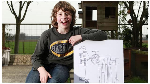 Niño holandés de 11 años se inspira en pizzas para rescatar el euro