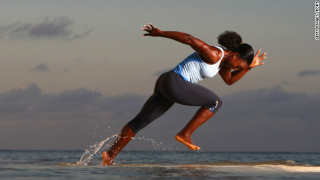 The fastest woman on earth?