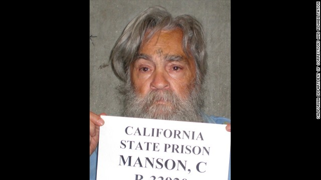 This image is the most recent photo of infamous inmate Charles Manson, taken in 2011.