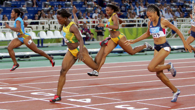 London 2012 will be Campbell-Brown's fourth Olympics. She won her first 200 meter gold medal at Athens in 2004 at the age of 22.