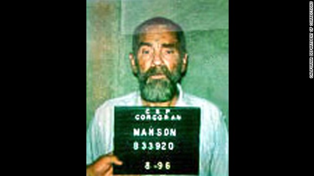 Manson in this August 1996 prison booking photo.