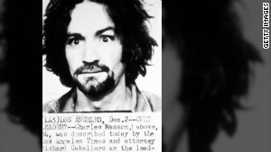 Manson\'s 1969 mugshot.