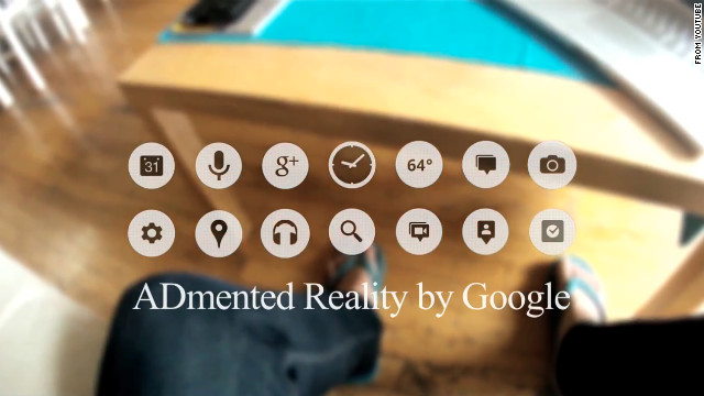 The glasses even spawned a parody YouTube video called <a href='http://www.youtube.com/watch?v=_mRF0rBXIeg' target='_blank'>ADmented Reality</a>, which mashed together Google Glass screens with the company's desktop screen advertisements.