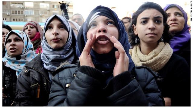 OPINIÓN: No les podemos fallar a las mujeres de la Primavera Árabe