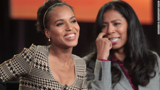 Engage: Black actresses shine in ABC's 'Scandal'