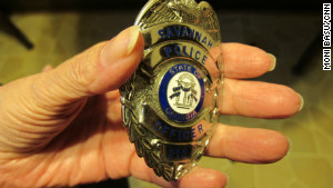 Anneliese MacPhail carries her son\'s police badge with her always, tucked in her handbag.