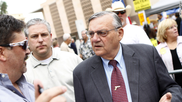 Overheard on CNN.com: 'I stand with Joe Arpaio,' reader says about lawsuit