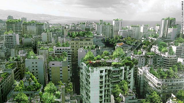"""""""Beirutopía"""": ¿Podría la capital del Líbano convertirse en un gran jardín?"""