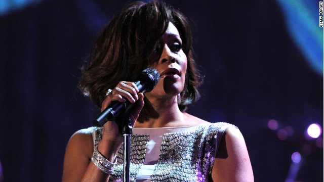 Whitney Houston died February 11; her mother's memoir will come out next February.