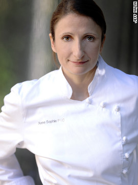 French gastronomy is in Anne-Sophie Pic's blood and in 2007 her restaurant, Maison Pic was awarded the three-Michelin-star rating.