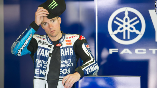 American rider Ben Spies was Rossi's replacement at Yamaha's main team last year, and the 27-year-old won a race for the first time in the Netherlands and finished fifth overall.