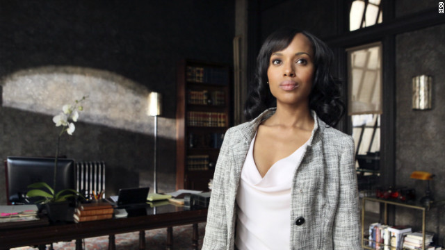 Actress Kerry Washington stars in the ABC show 