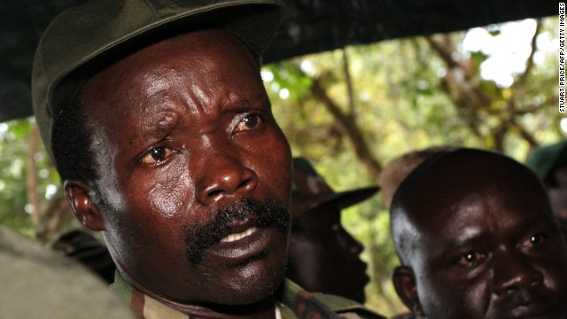 African warlord Joseph Kony is shown in a 2006 photo.