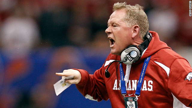 University of Arkansas head football coach Bobby Petrino is on paid administrative leave.